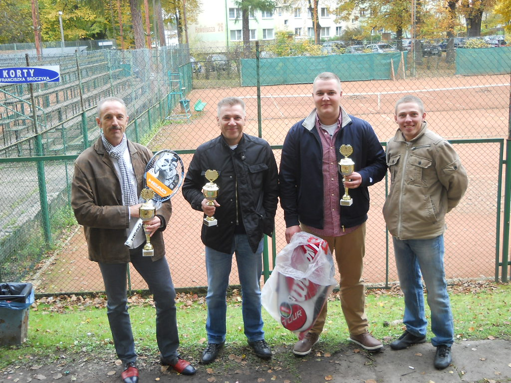Finaliści Ligi Tenisa Ziemnego 2012