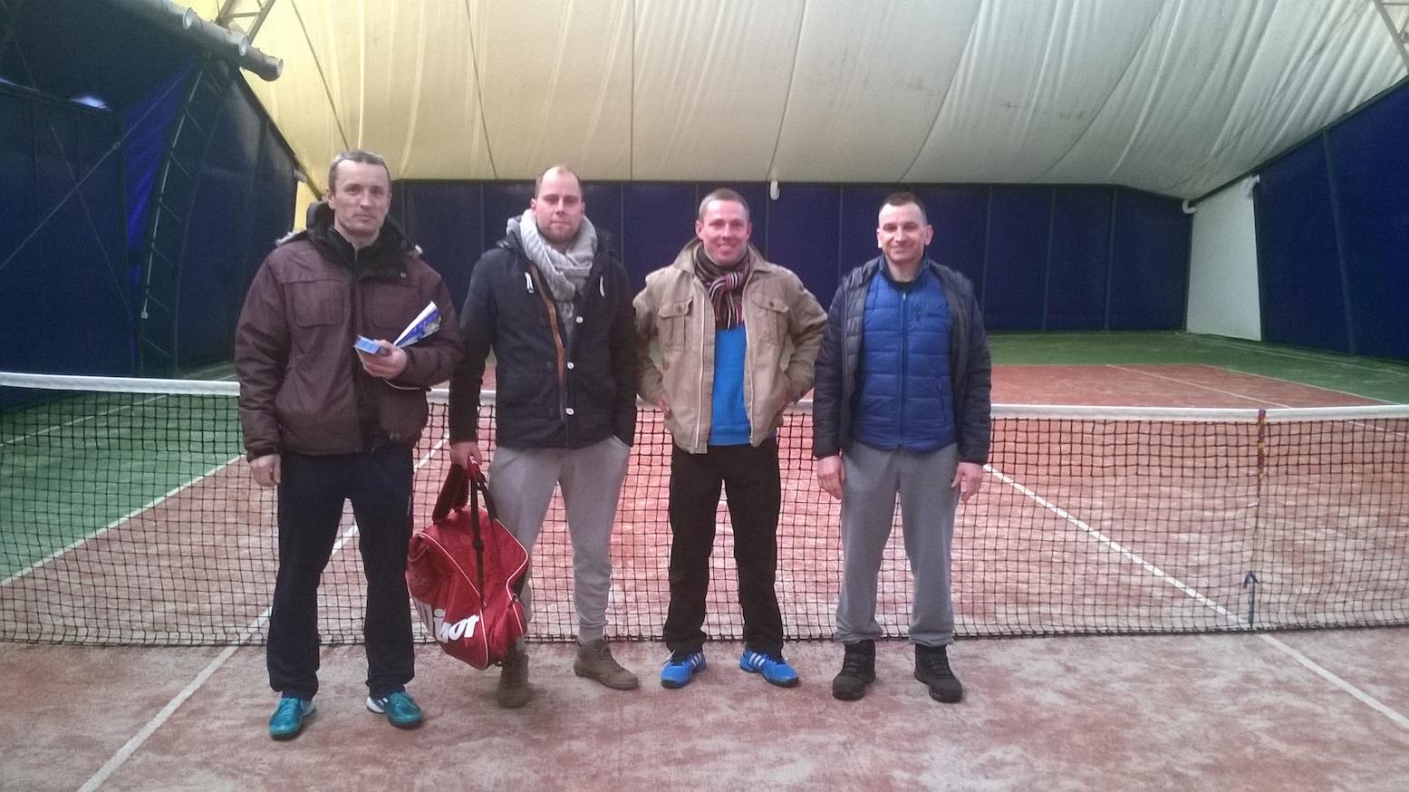 Finaliści Ligi Tenisa Ziemnego 2014